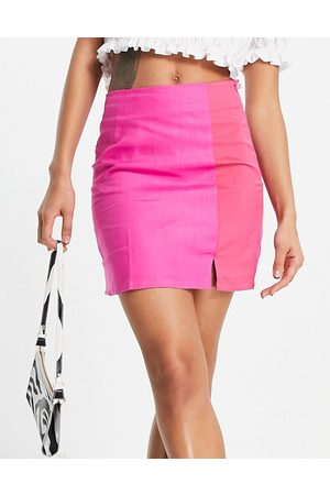 Never Fully Dressed Contrast tailored mini skirt co