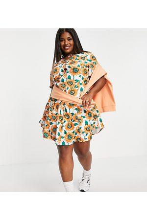 Daisy Street Mini dress in sunflower print