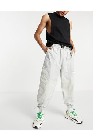 ASOS Oversized tapered joggers in colour blocking