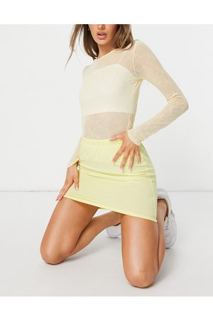 Heartbreak Ribbed mini skirt co