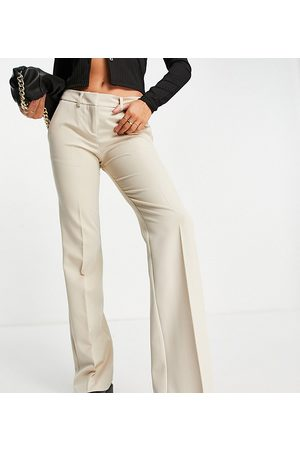 AsYou Tailored slim trouser in butter