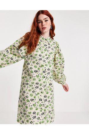 VILA Mujer Camiseros - Shirt dress in floral