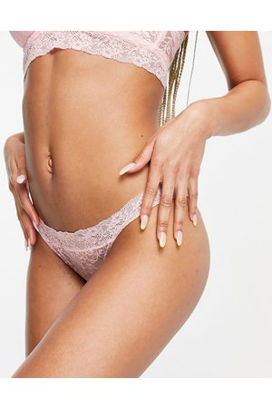 ASOS Mujer Tangas - Molly lace thong in pink