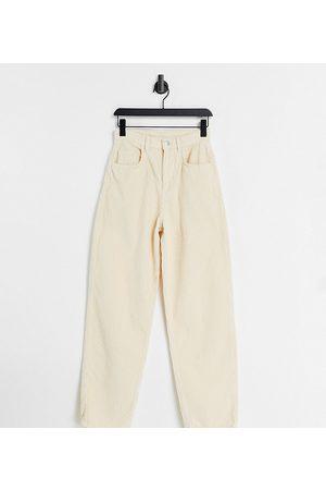 Reclaimed Inspired 90s baggy jean in ecru cord