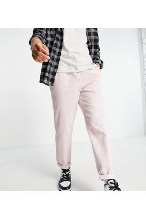 New Look Cord utility joggers in pink