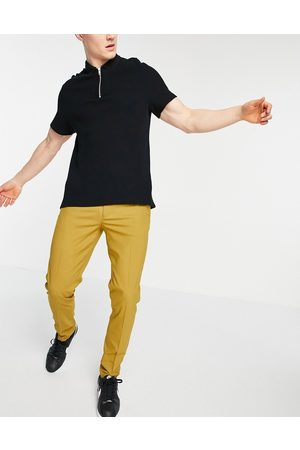ASOS Hombre Chinos - Skinny smart trousers in light camel