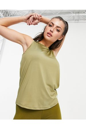 Only Play Training tank top in green