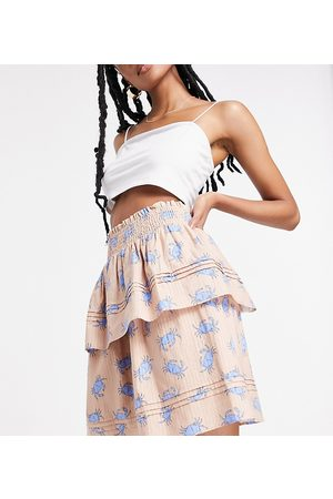 Y.A.S Mujer Minifaldas - Exclusive tiered mini skirt co