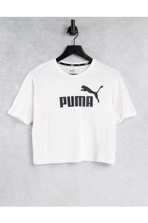 PUMA Mujer Tops - Essentials logo cropped t
