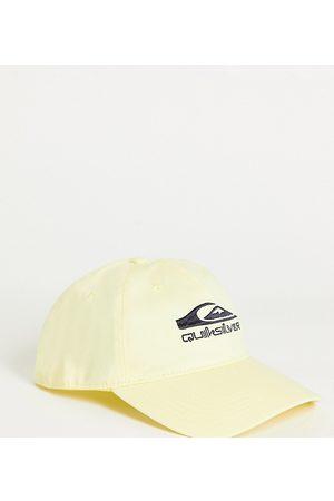 Quiksilver The Baseball cap in yellow Exclusive at ASOS