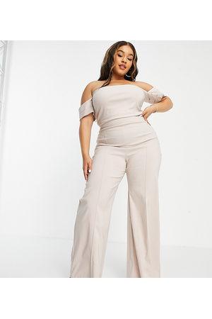 Vesper Wide leg trouser with seam detail co