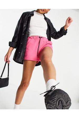 Night Addict High waisted jogger shorts