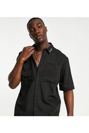 COLLUSION Hombre Manga corta - Short sleeve boxy shirt co