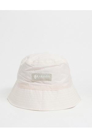Columbia Roatan Drifter Reversible bucket hat in pink/white