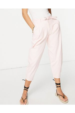 Hollister Balloon trouser in pink