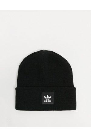 adidas Logo beanie hat in black
