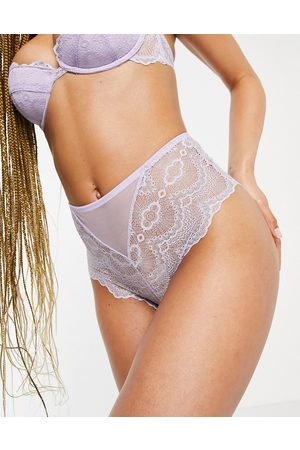 ASOS Rosie lace high waisted knicker in lilac