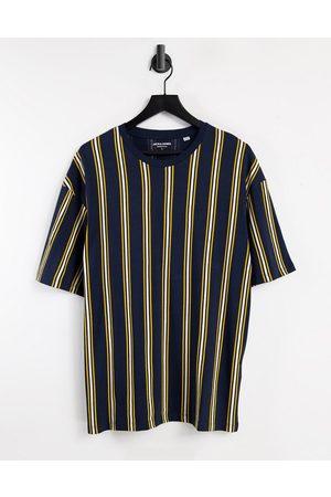 JACK & JONES Originals oversize vertical stripe t