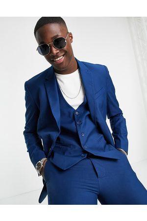 New Look Bright blue waistcoat in blue