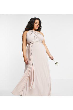 TFNC Mujer Vestidos de noche - Bridesmaid multiway maxi dress in pink