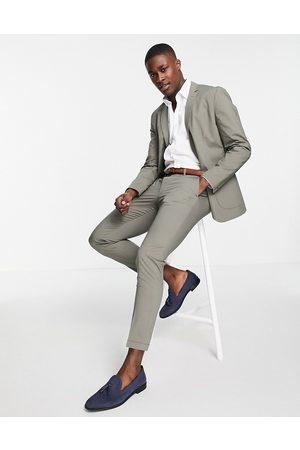 JACK & JONES Premium slim fit suit jacket in green