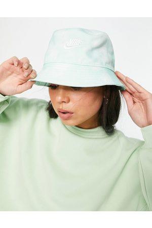 Nike Tie dye bucket hat in green