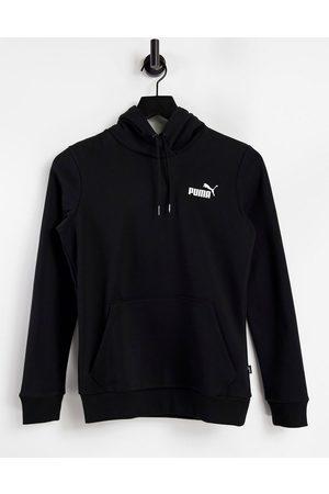 PUMA Mujer Con capucha - Essentials small logo hoodie in black