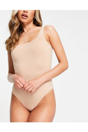 & OTHER STORIES Mujer Body - Recycled bodysuit in light
