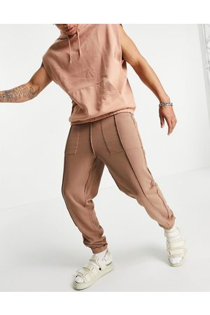 ASOS Reversible oversized jogger with seam detail
