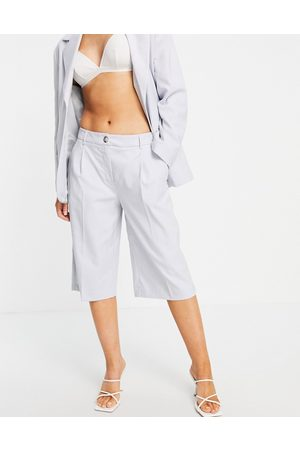 SELECTED Mujer Shorts - Femme wide leg shorts co