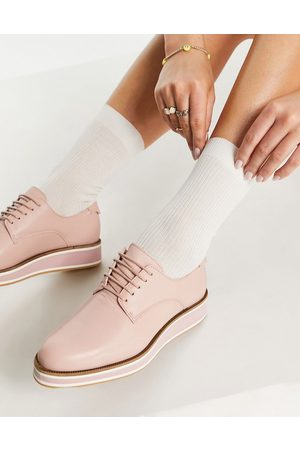 Fiorelli Mujer Flats - Franca lace up shoes in pink