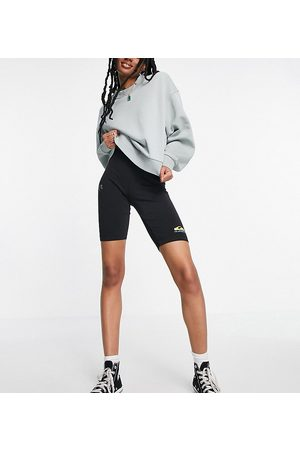 Quiksilver Mujer Shorts - Over the Coast shorts in black Exclusive at ASOS