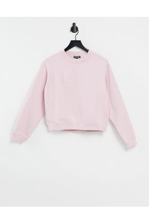French Connection Cropped sweatshirt co