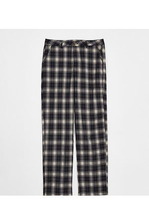 Reclaimed Inspired cutabout check trouser