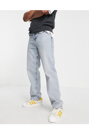 ASOS Hombre Rectos - Relaxed jeans in light wash