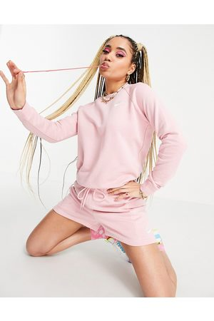 Nike Mujer Con capucha - Essential sweatshirt in pink glaze with crew neck