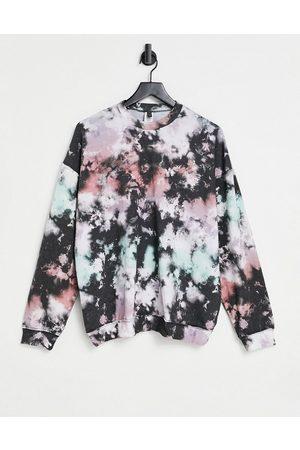 Onzie Mujer Sudaderas - Boyfriend sweatshirt in tie dye print