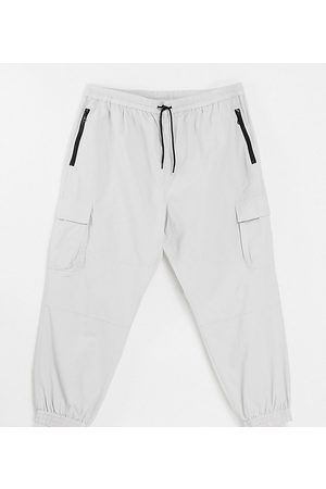 New Look Relaxed fit tech jogger in stone