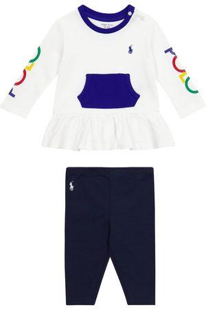Ralph Lauren Baby cotton top and leggings set