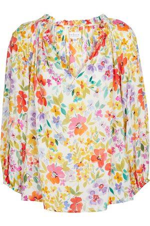 Velvet Tyra floral blouse