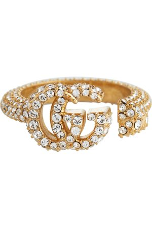 Gucci Double G embellished ring