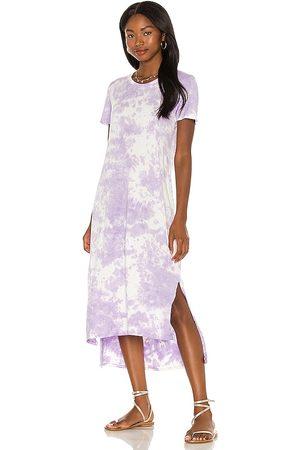 Michael Lauren Vestido augustus en color lavanda talla L en - Lavender. Talla L (también en XS, S, M).