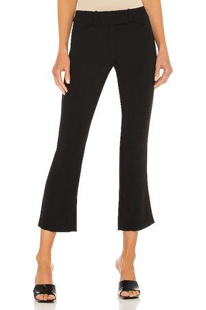 Amanda Uprichard Pantalones paris en color talla L en - Black. Talla L (también en XS, S, M).
