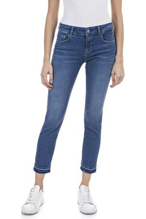 Replay Mujer Jeans - Vaqueros Faaby 25 Medium Blue