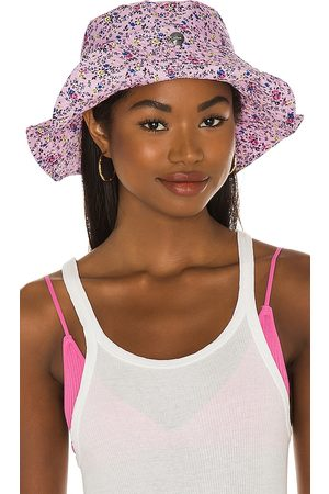 Ganni Sombrero pesca en color rosado talla M/L en - Pink. Talla M/L (también en XS/S).