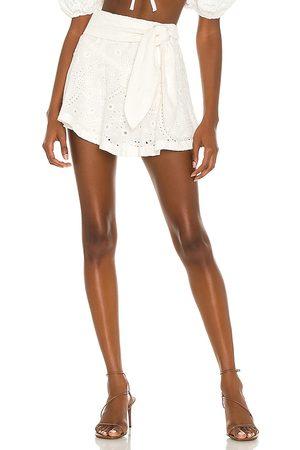 Tularosa Falda-pantalón carlotta en color talla L en - White. Talla L (también en XXS, XS, S, M, XL).