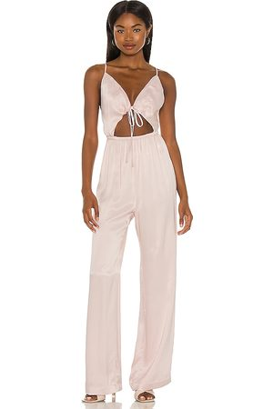 LPA Balint jumpsuit en color rubor talla L en - Blush. Talla L (también en XXS, XS, S, M, XL).