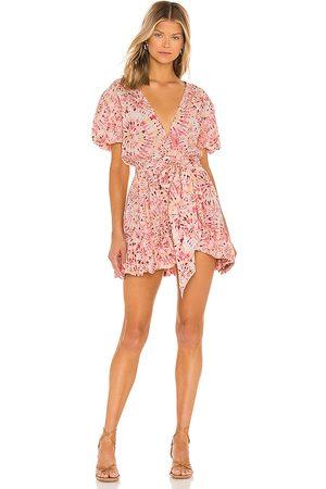 MISA Mujer Vestidos - Vestido eloise en color rosado talla L en - Pink. Talla L (también en XS, S, M).