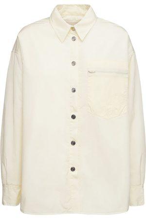 REMAIN Camisa Oversize Evy De Nylon Reciclado Acolchado