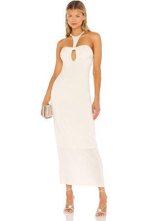 RONNY KOBO Vestido trista en color crema talla L en - Cream. Talla L (también en XS, S, M).